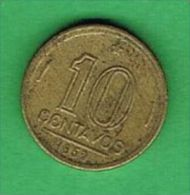 X078 Brasil 10 Centavos 1953 - Brasile
