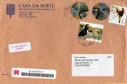 TIMBRES DIVERS - STAMPS SEVERAL - PORTUGAL - OISEAUX -BIRDS -MACAREUX-MOINES (Fratecula Arctica) -PIVERT (Picus Viridis - Altri
