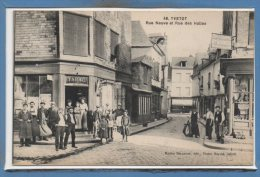 76 - YVETOT --  Rue Neuve Et Rue Des Halles - Yvetot