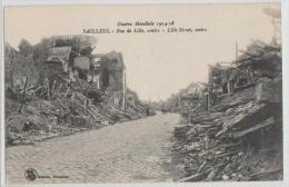 France - Bailleul - Guerre Mondiale 1914-18 - Rue De Lille - Centre - Dunkerque
