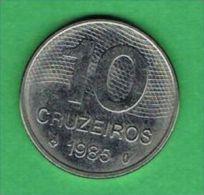 X118 Brasil 10 Cruzeiros 1985 - Brasile