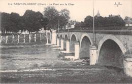 18 SAINT FLORENT LE PONT SUR LE CHER - Saint-Florent-sur-Cher