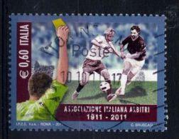 Italia Italie Italy  2011 USATO - Centenario Dell´associazione Italiana Arbitri - 2011-...: Usati