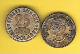 FICHAS - MEDALLAS // Token - Medal ~~ Galletas TOSTARRICA De Cuetara 22mm - Profesionales/De Sociedad