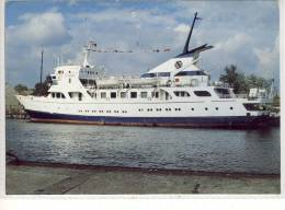"MS ""CITANIA"" - Schiff, Cruise Ship, Yacht,, Navire,  Oder-Haff Seetouristik, Reederei Peters SHIP - Bateaux"