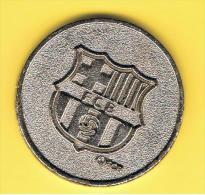 FICHAS - MEDALLAS // Token - Medal ~~  Futbol Club Barcelona # Loteria De Catalunya 30 Mm - Profesionales/De Sociedad