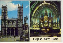 QUEBEC - L´Eglise Notre-Dame Montreal, Nice Stamp - Québec - La Cité