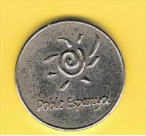 FICHAS - MEDALLAS // Token - Medal ~~  PEMSA # Poble Espanyol # BARCELONA  25 Mm - Profesionales/De Sociedad