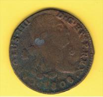 FICHAS - MEDALLAS // Token - Medal ~~ Reproduccion Moneda 8 Maravedis 1808 Carlos IIII  # Ortiz 3 Cm - Profesionales/De Sociedad
