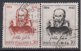 ITALIË - Michel - 1964 - Nr 1157/58 - Gest/Obl/Us - 6. 1946-.. Republik