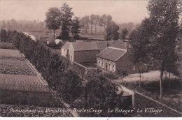 Haute-Croix 4: Pensionnat Des Ursulines. Le Potager. Le Village 1912 - Pepingen