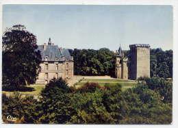 Saint LOUP SUR THOUET--Le Chateau  ,cpsm 10 X 15  N° 205  éd Combier---pas Très Courante - Saint Loup Lamaire