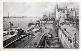 1917 AN DER SCHELDE IN ANTWERPEN, FELDPOST, SOLDATENBRIEF-STEMPEL - Belgique