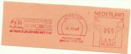 Nice Cut Meter De Trein Is Zo Gek Nog Niet, Utrecht 10-7-1986 - Treinen