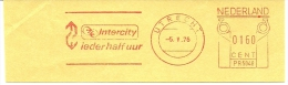 Nice Cut Meter  INTERCITY Ieder Half Uur, Utrecht 5-5-1976 - Treinen