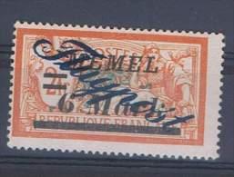 """MEM 49 - MEMEL Mersons PA 18 Avec Variété """"g"""" De Flugpost Cassés Et Pointe Neuf** - Memel (1920-1924)"""
