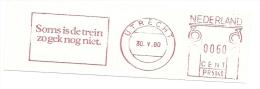 Nice Cut Meter Soms Is De Trein Zo Gek Nog Niet, Utrecht 30-5-1980 - Treinen