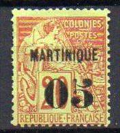 Martinique N° 4 Neuf (*) (neuf SANS Gomme) - Cote Neuf * : 20€ - Neufs