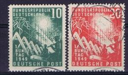 Bundespepublik Mi Nr 111 + 112, Used