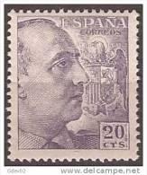 ES1047-LA847.España.S Pain Espagne CID Y GENERAL FRANCO 1949/53.(Ed 1047**) Sin Charnela LUJO. - 1931-50 Nuevos & Fijasellos