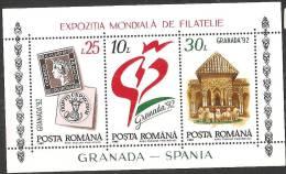 Romania 1992 BF Nuovo** - Mi.272  Yv.217 - Blocchi & Foglietti