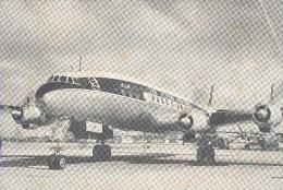 KLM, Lockheed Super Constallation.     Luchtvaart / Aviation - 1946-....: Moderne