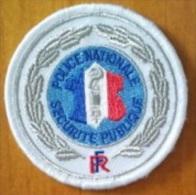 Ecusson Police Nationale - Sécurité Publique - Police & Gendarmerie
