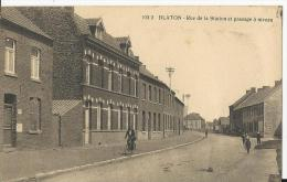 Blaton: Rue De La Station Et Passage à Niveau - Bernissart