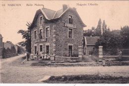 Marchin 7: Belle Maison. Magasin L'Abeille 1921 - Marchin