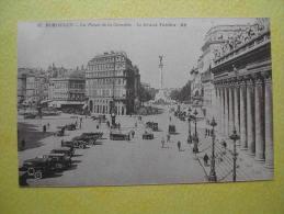 La Place De La Comédie. - Bordeaux