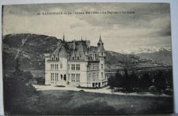 CPA 1910/1920 - SASSENAGE (Grenoble ) Le Château Des Côtes - Les Alpes - TTBE - Sassenage