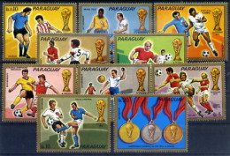 Paraguay Série Complète II CM 74 ** - Coppa Del Mondo