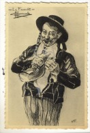 Le FAOUËT. -  Illustrateur Charles HOMUALK.   Format 9x14 - Faouët