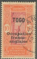 Togo Occupation Française - N° 88 (YT) N° 25 (AM) Oblitéré De Anecho. - Togo (1914-1960)