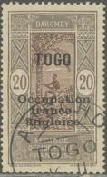 Togo Occupation Française - N° 90 (YT) N° 26 (AM) Oblitéré De Anecho. - Togo (1914-1960)