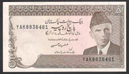 PAKISTAN BANKNOTE - Old 5 Rupees Ishrat Husain YAK 8836461 UNC - Pakistan