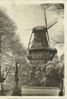 NL Old Postcard  Historische Muhle Postdam Used Cancel Werdet Rundfunkteilnehmer - Windmolens
