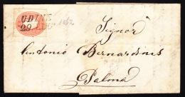 Austria- 1862 Lombardy Venetia - Covers & Documents