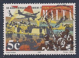 Malta ~ 1995 ~ Anniversaries ~ SG 989 ~ Used - Malta