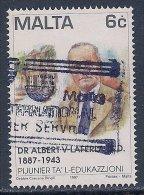 Malta ~ 1997 ~ Pioneers Of Education ~ SG 1054 ~ Used - Malta
