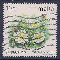 Malta ~ 1999-2003 ~ 10c Defin. ~ Maltese Flowers ~ SG 1140 ~ Used - Malta