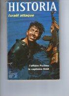 HISTORIA N°268 MARS 1969.L´AFFAIRE PUCHEU.LE CAPITAINE KIDD.ETRANGE TSAR  PAUL 1er. - Geschiedenis