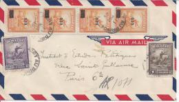 HAITI - 1949 -  LETTRE RECOMMANDEE DE PORT AU PRINCE A DESTINATION DE PARIS - - Haïti