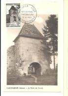 Vaucouleurs, Meuse, Porte, France - Carte Maximum, 1952  (M633) - Monumenti