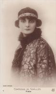 CPA - Artiste Photo Carte Comtesse De NOAILLES Poéte Romancière Photo H. Manuel - Début 1900 - Schrijvers