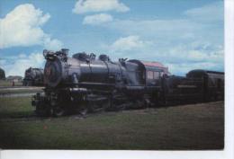 (TRENS35) LOCOMOTIVE ATLANTIC TYPE PRR STEAM 460 (RAILROAD MUSEUM. PENNSYLVANIA) - Trains