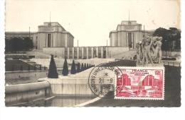 Paris, Palais De Chaillot - Carte Maximum,  1948  (M662) - Monumenti