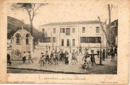 ALGERIE - BIRMANDREIS - 7 - Les Ecoles Communales - Nicolas Gaston édit. Birkadem - Phot. LEROUX ALGER - - Andere Steden