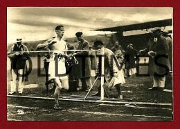 FINLAND - ATHLETICS - TOIVO LOUKOLA - OLIMPIC GAMES 1928 - SOC. TABACOS DE ANGOLA  - OLD ADV. CARD. - Advertising