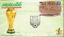 Nanumea-Tuvalu Football Cover - World Cup